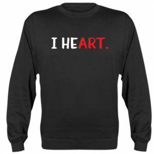 Sweatshirt I heart