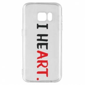 Samsung S7 Case I heart