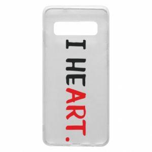 Samsung S10 Case I heart