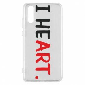 Huawei P20 Case I heart