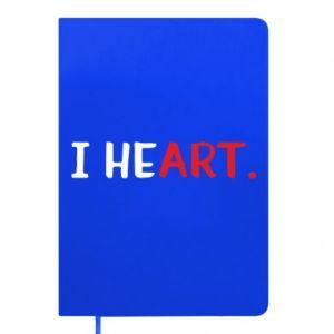 Notepad I heart