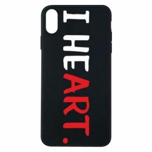iPhone Xs Max Case I heart