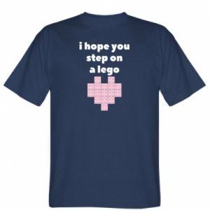 Koszulka męska I hope you step on a lego