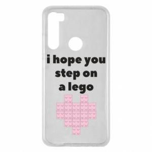Etui na Xiaomi Redmi Note 8 I hope you step on a lego