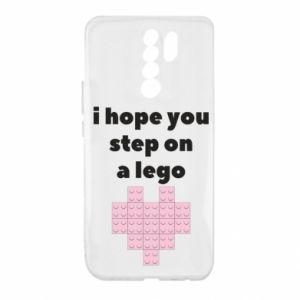 Etui na Xiaomi Redmi 9 I hope you step on a lego