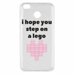 Etui na Xiaomi Redmi 4X I hope you step on a lego