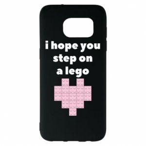 Etui na Samsung S7 EDGE I hope you step on a lego