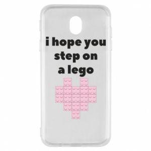 Etui na Samsung J7 2017 I hope you step on a lego