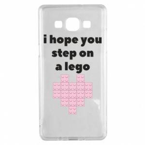 Etui na Samsung A5 2015 I hope you step on a lego
