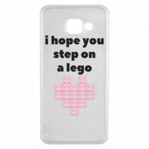 Etui na Samsung A3 2016 I hope you step on a lego