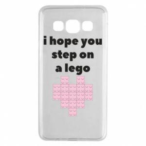 Etui na Samsung A3 2015 I hope you step on a lego