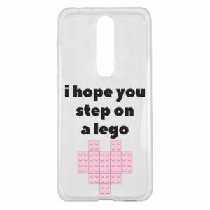 Etui na Nokia 5.1 Plus I hope you step on a lego
