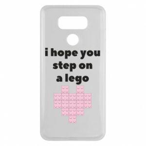 Etui na LG G6 I hope you step on a lego