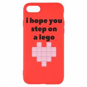Etui na iPhone SE 2020 I hope you step on a lego