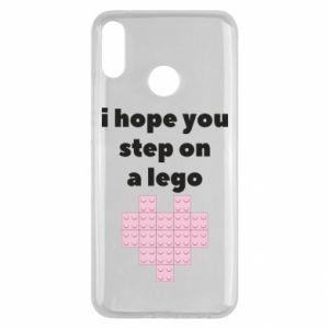 Etui na Huawei Y9 2019 I hope you step on a lego