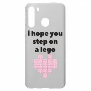 Etui na Samsung A21 I hope you step on a lego