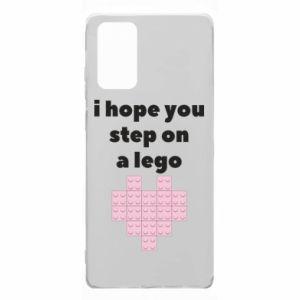 Etui na Samsung Note 20 I hope you step on a lego