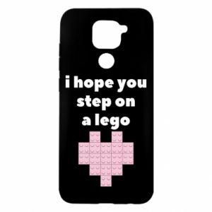 Etui na Xiaomi Redmi Note 9/Redmi 10X I hope you step on a lego