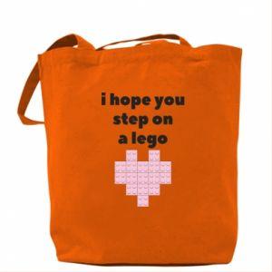 Torba I hope you step on a lego