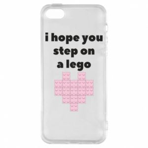 Phone case for iPhone 5/5S/SE I hope you step on a lego