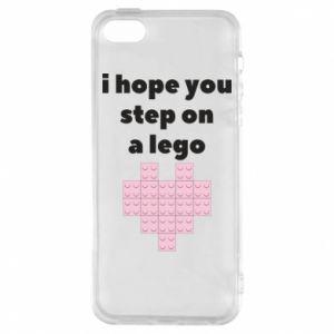 Etui na iPhone 5/5S/SE I hope you step on a lego