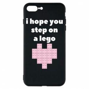 Etui na iPhone 8 Plus I hope you step on a lego