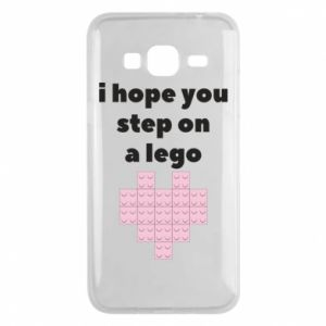 Phone case for Samsung J3 2016 I hope you step on a lego