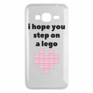 Etui na Samsung J3 2016 I hope you step on a lego