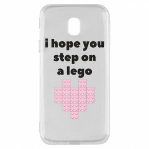 Phone case for Samsung J3 2017 I hope you step on a lego