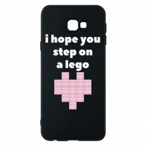 Phone case for Samsung J4 Plus 2018 I hope you step on a lego