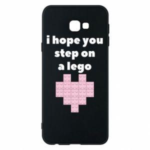Etui na Samsung J4 Plus 2018 I hope you step on a lego