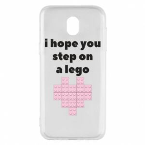 Phone case for Samsung J5 2017 I hope you step on a lego