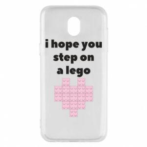 Etui na Samsung J5 2017 I hope you step on a lego