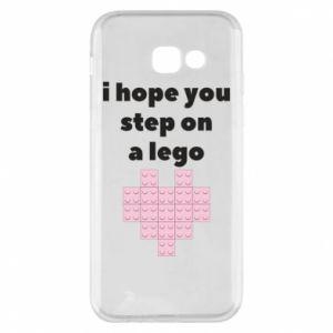 Etui na Samsung A5 2017 I hope you step on a lego
