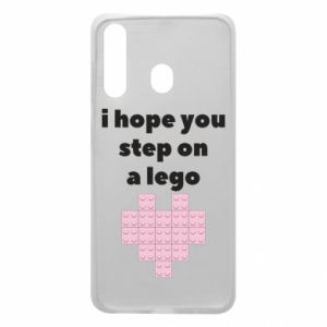 Phone case for Samsung A60 I hope you step on a lego