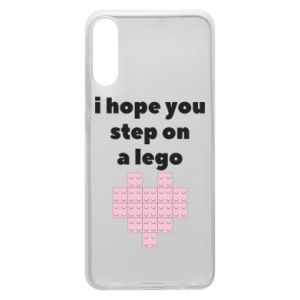 Phone case for Samsung A70 I hope you step on a lego