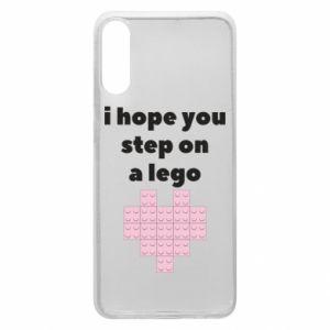 Etui na Samsung A70 I hope you step on a lego