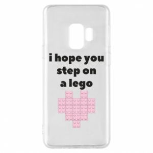 Phone case for Samsung S9 I hope you step on a lego