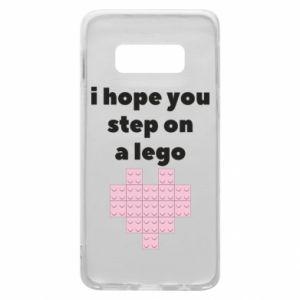 Etui na Samsung S10e I hope you step on a lego