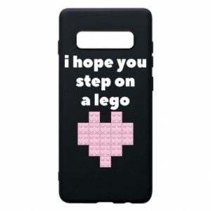 Phone case for Samsung S10+ I hope you step on a lego