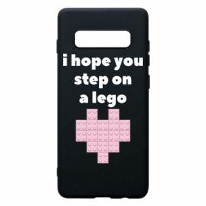 Etui na Samsung S10+ I hope you step on a lego