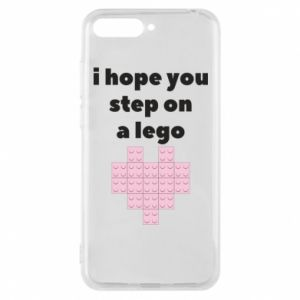Phone case for Huawei Y6 2018 I hope you step on a lego