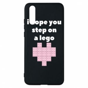 Phone case for Huawei P20 I hope you step on a lego