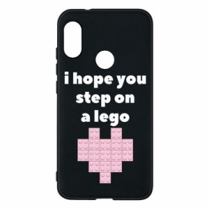 Phone case for Mi A2 Lite I hope you step on a lego