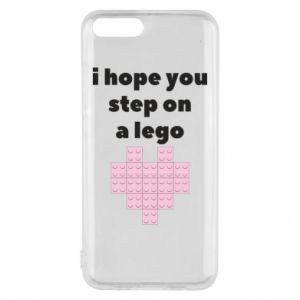 Phone case for Xiaomi Mi6 I hope you step on a lego