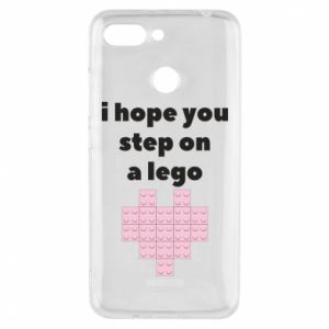 Phone case for Xiaomi Redmi 6 I hope you step on a lego