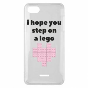 Phone case for Xiaomi Redmi 6A I hope you step on a lego