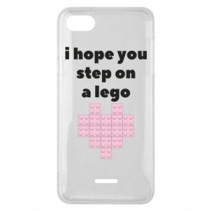 Etui na Xiaomi Redmi 6A I hope you step on a lego