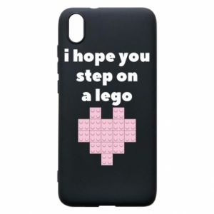 Phone case for Xiaomi Redmi 7A I hope you step on a lego