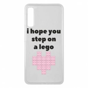 Phone case for Samsung A7 2018 I hope you step on a lego